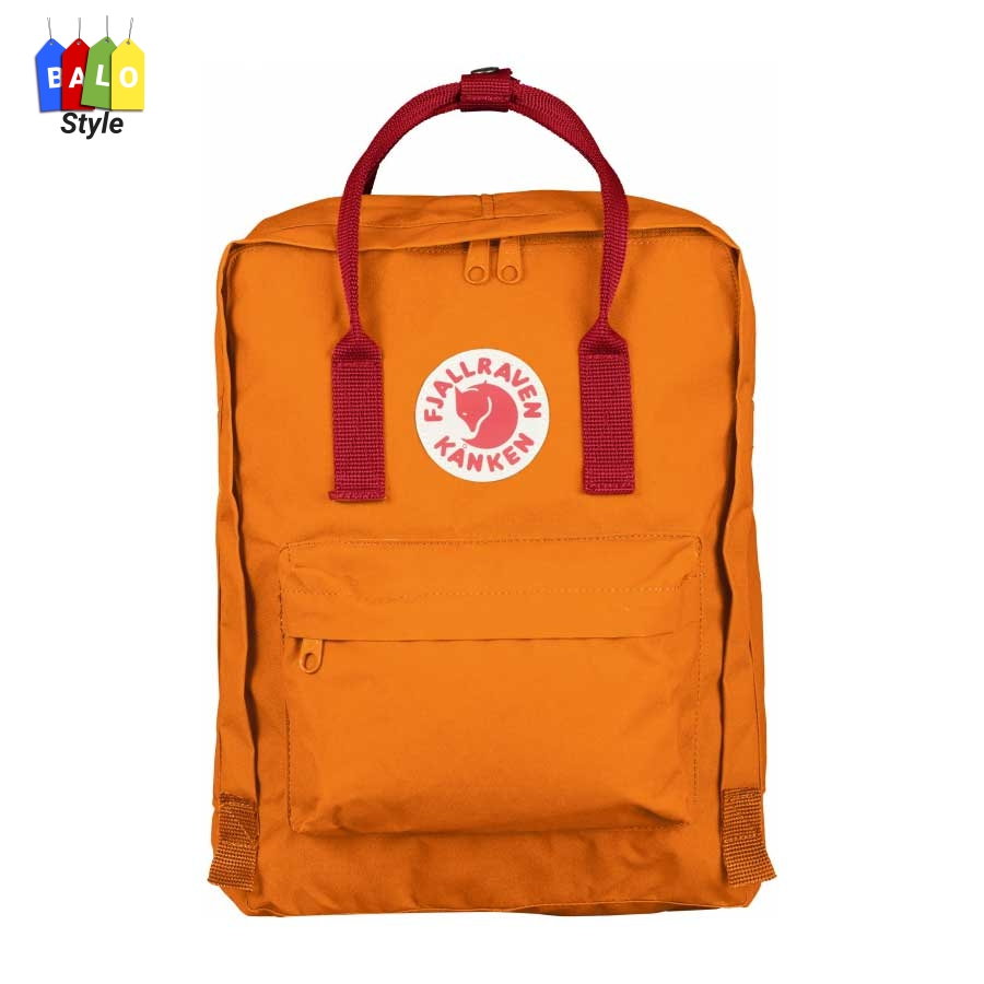 Balo Kanken Classic Burnt Orange/Deep red – Fjallraven Brand