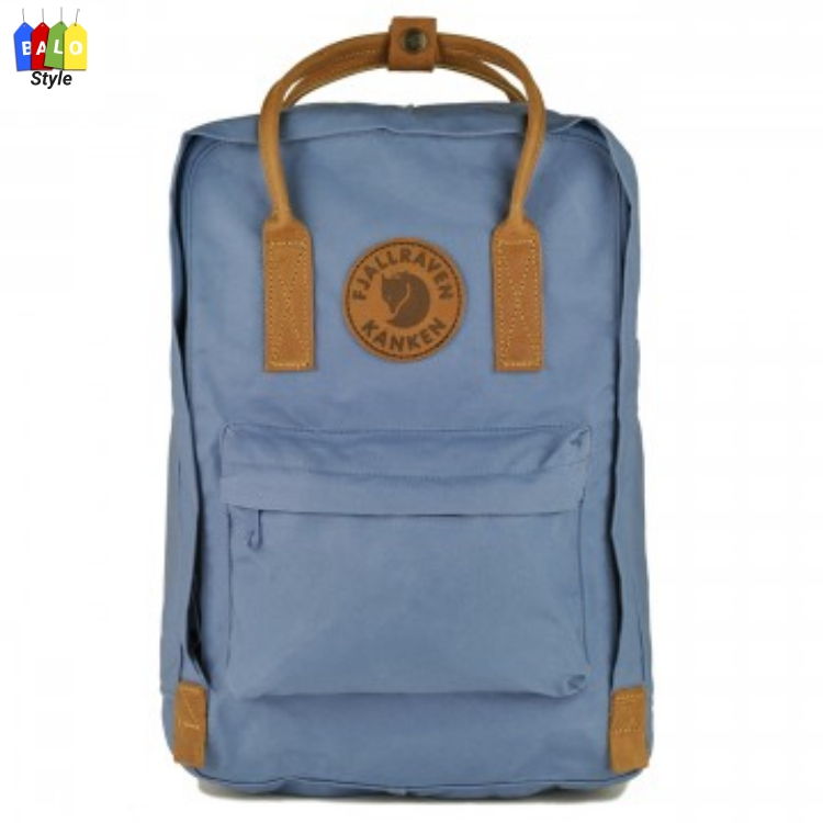 "Balo Kanken No.2 Laptop 15"" – Blue Ridge Color-Fjallraven Brand"